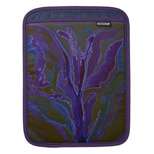 Kelp in blues for this ipad sleeve