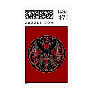 Kelpie Postage Stamp