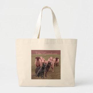Kelpies australiian bolsa tela grande