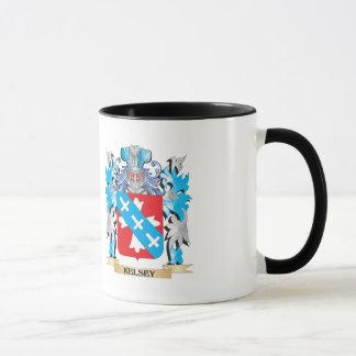 Kelsey Coat of Arms - Family Crest Mug