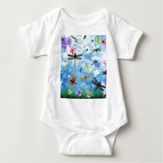 kelsey de Nola del arte de la libélula Body Para Bebé