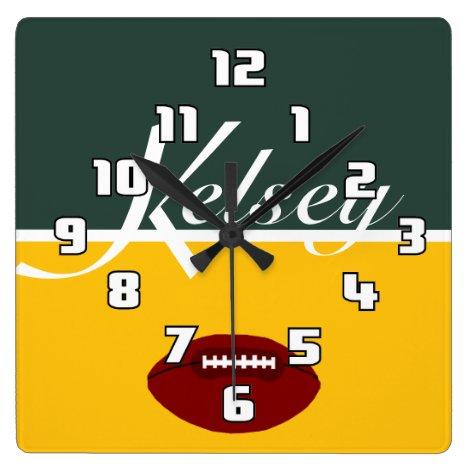 Kelsey Football Limon Clock