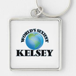 Kelsey más atractivo del mundo llaveros