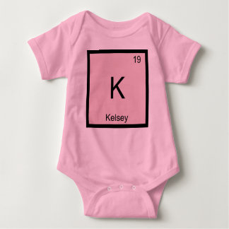 Kelsey  Name Chemistry Element Periodic Table Baby Bodysuit