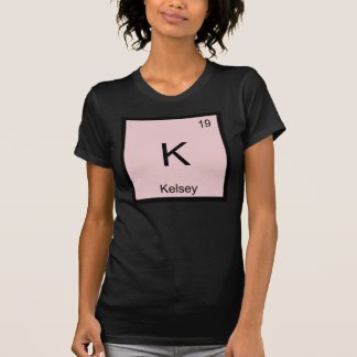 Kelsey  Name Chemistry Element Periodic Table T-Shirt