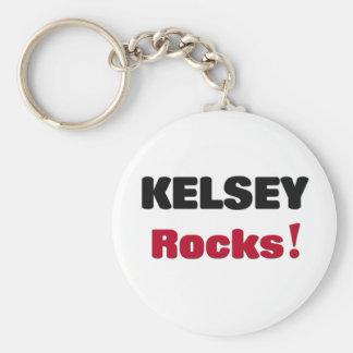Kelsey Rocks Keychain