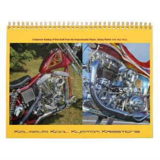 Kelsey's Kool Kustom Kreations; 2013 Calendar