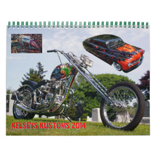 Kelsey's Kustoms 2014 Calendar