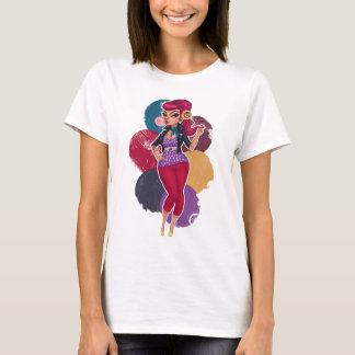 Kelsie Kat - Bubble Gum Pinup T-Shirt