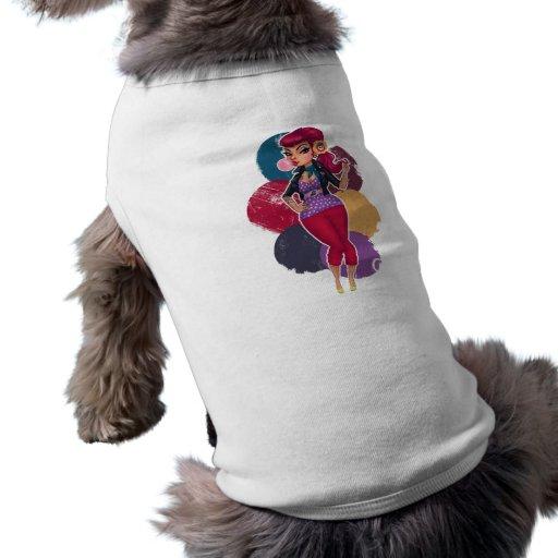 Kelsie Kat - Chicle modelo Playera Sin Mangas Para Perro