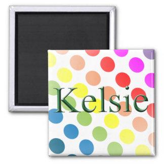Kelsie name magnet