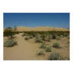 Kelso Dunes at Mojave National Park Poster