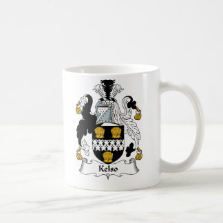Kelso Family Crest Coffee Mug