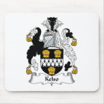 Kelso Family Crest Mouse Pad