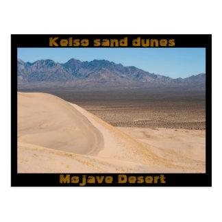 Kelso sand dunes postcard