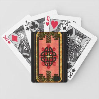 kelt shield blaze bicycle playing cards