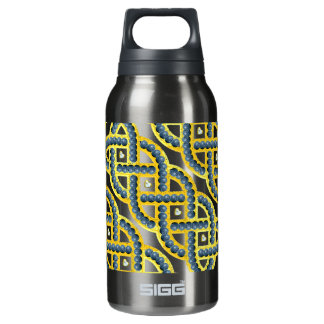 Keltic Knot With Blueberries Insulated Water Bottle