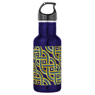 Keltic Knot With Blueberries Stainless Steel Water Bottle
