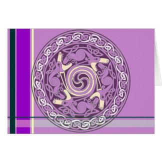 Keltick Kandy Dragons Greeting Card