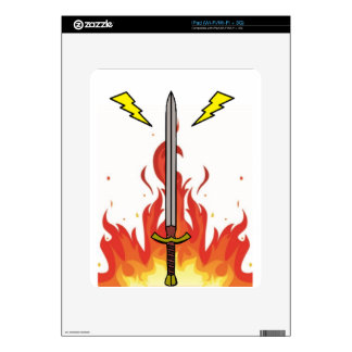 Kelvin Sword Logo iPad Decals