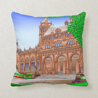Kelvingrove Art Gallery Glasgow Scotland Throw Pillow