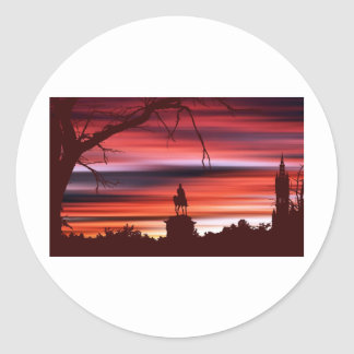 Kelvingrove Classic Round Sticker