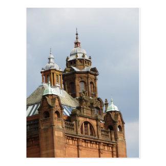 Kelvingrove Museum, Glasgow Postcard