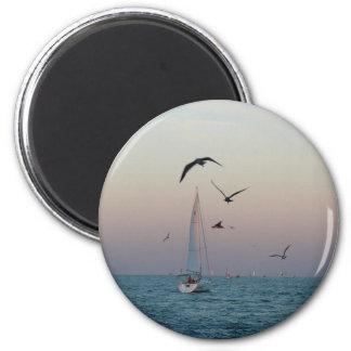 Kemah sailboat magnet