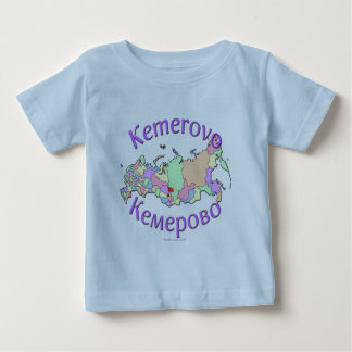 Kemerovo Russia Map Baby T-Shirt