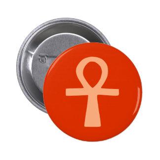 Kemetism symbol orange pins