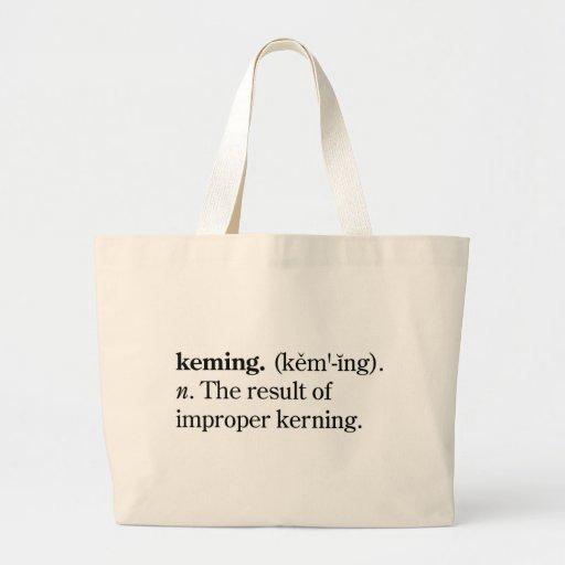 Keming Canvas Bags