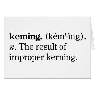 Keming Card