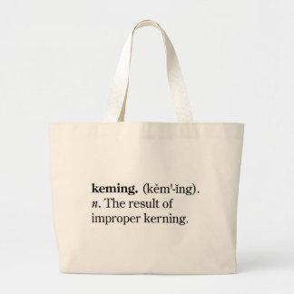 Keming Large Tote Bag