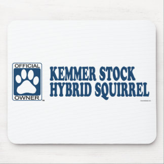 Kemmer Stock Hybrid Squirrel Dogs Blue Mouse Pad