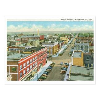 Kemp Ave., Watertown, South Dakota Vintage Postcard
