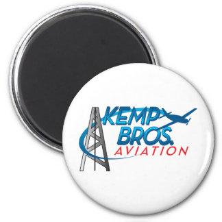Kemp Bros. Aviation 2 Inch Round Magnet