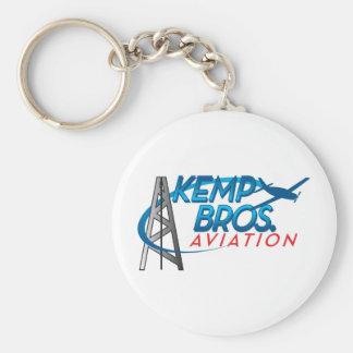 Kemp Bros. Aviation Keychain