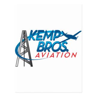 Kemp Bros. Aviation Postcard