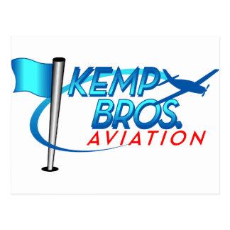 Kemp Brothers Aviation Postcard