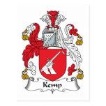 Kemp Family Crest Postcard