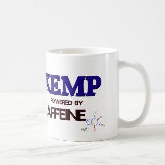 Kemp powered by caffeine mug