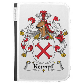 Kempf Family Crest Kindle 3 Covers