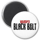 Kempo Black Belt Karate Refrigerator Magnets