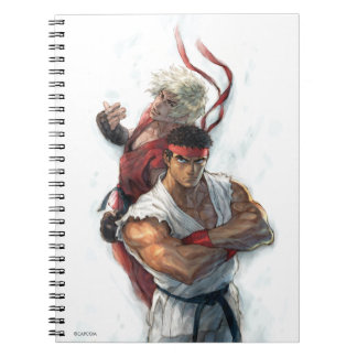 Ken and Ryu 2 Notebook