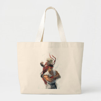 Ken and Ryu Tote Bags