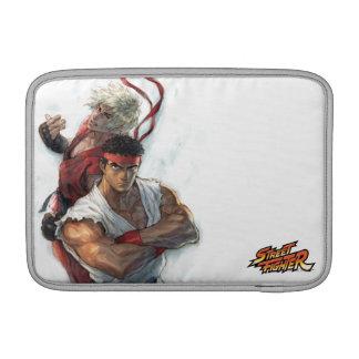 Ken and Ryu MacBook Air Sleeves