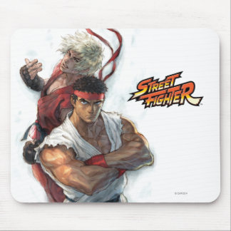 Ken and Ryu Mouse Pad