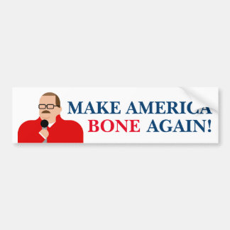 "Ken Bone Bumper Sticker ""Make America Bone Again!"""