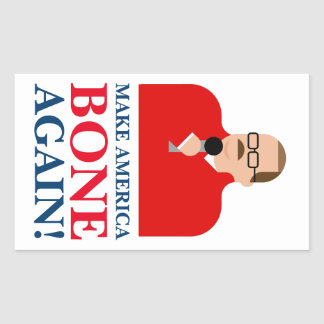 "Ken Bone Stickers ""Make America Bone Again"""