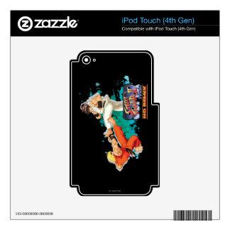 Ken contra Ryu 2 iPod Touch 4G Calcomanías